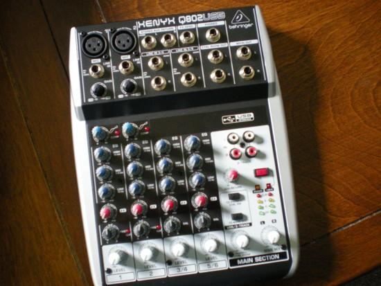Q802USB Mixer